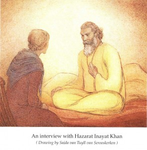 HIK-sitting-painting-for-web From Book Universal Sufism